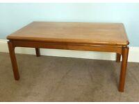 Retro / Vintage 1960/70s Rare Parker Knoll Coffee Table