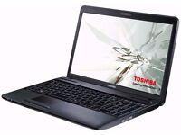 BARGAIN BARGAIN - Toshiba Laptop FOR SALE at a Market Beatable Price - Good Condition