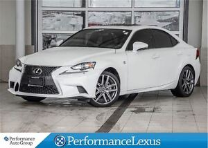 2014 Lexus IS 250 AWD 6A F-SPORT WITH NAVIGATION.
