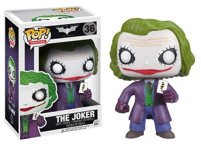 Funko Pop Heroes  The Dark Knight   The Joker Vinyl Figure Item No  3372