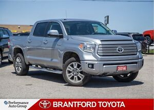 2014 Toyota Tundra Platinum 5.7L V8, Off Lease, Carproof Clean