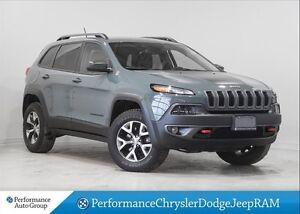 2015 Jeep Cherokee Trailhawk * Leather * V6 * Nav