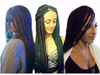 European & Asian Hair Braiding Specialist - Cornrows (Kim Kardashian's type) from £15/cornrow