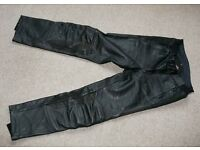 """Hein Gericke Router leather touring trousers size 34"""""""