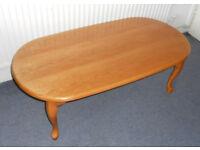 Large Oak Effect Coffee Table