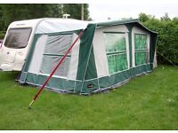 Pyramid Corsican 900 Awning + Universal Annexe + Tie Down Kit