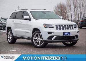 2014 Jeep Grand Cherokee Summit ECO Diesel Pano Roof Leather Nav