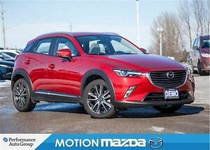 2017 Mazda CX-3 GT TECH DEMO Leather Roof Navi