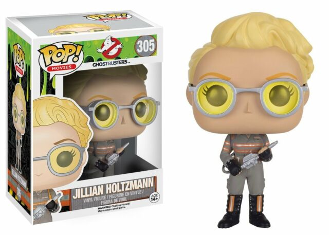 Funko Pop Movies Ghostbusters 2016 Jillian Holtzmann Vinyl Action Figure Toy 305