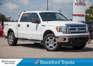 2013 Ford F-150 XLT, XTR, Crew Cab, Spray Liner, Back Rack