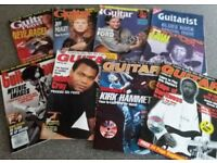 Approx 100 Guitar/Guitarist/Music Magazines. Large collection from 1991 including many CDs