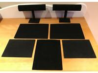 Black Velvet Jewellery Display Boards & Stands
