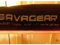"Savage gear.butch light xlnt 40-100g 6ft 9"" 2 piece"