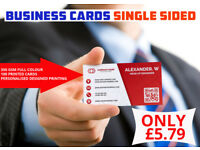 100 Printed Business card at Unbelievable Price