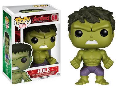 Funko Pop Marvel Movies Avengers 2 Hulk Bobble Head Vinyl Action Figure Toy 4776