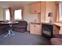 CHEAP 2 bed static caravan*NEW UPHOLSTERY*Dog friendly*12 month park*2016 site fees inc*east coast