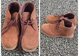 Boy Desert Boots