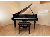 Gors & Kallmann Large Grand Piano GK185 with Concert Stool in Excellent Condition
