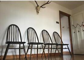 💥💥💥SOLD💥💥💥Ercol Dining chairs mint mid century