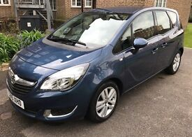 Vauxhall Meriva 1.4i 16v Life Blue Low Mileage! Great Condition!