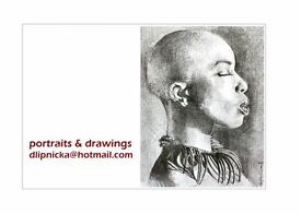 Portraits and drawings