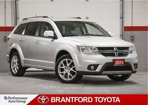 2011 Dodge Journey Crew, Trade In, Carproof Clean