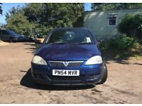 Vauxhall corsa SXI 16V for sale, MOT, low mileage, drives perfect.