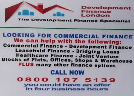 LOOKING FOR FINANCE? BRIDGING FINANCE AVAILABLE FROM £30,000 TO £35M