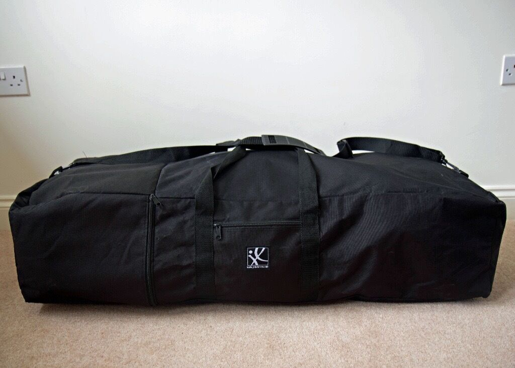 Jl Childress Padded Umbrella Stroller Carry Bag In Black