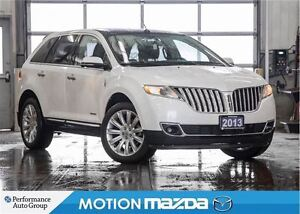 2013 Lincoln MKX Limited EDT Pano-Roof Leather Navi