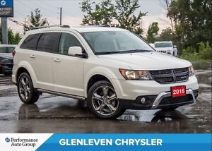 2016 Dodge Journey Crossroad | 7 PASS | NAV | SUNROOF | BU CAM
