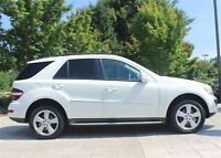2008 Mercedes-Benz ML350 CANADIAN -- WHITE -- LOW 73,000 KM