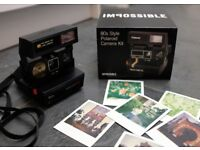 Impossible Polaroid 600 vintage camera with box