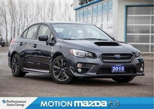 2015 Subaru WRX Sport-tech 6Spd Leather Roof Navi