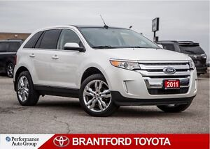 2011 Ford Edge Under 41,000 kms, Limited, AWD, One Owner, Carpro