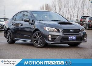 2016 Subaru WRX Sport Package 6 Speed Roof