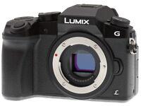 Panasonic LUMIX DMC-G7K [4K] 16.0MP Digital Camera - Black