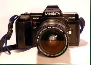 Minolta MAXXUM film camera