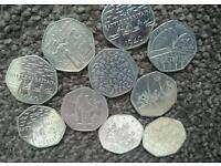 50p coin