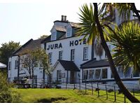 Cook in the most beautiful spot in Britain   CDP & COMMIS ROLES AT ISLE OF JURA HOTEL   live-in