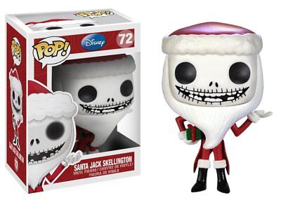 Funko Pop Disney: Santa Jack Skellington Vinyl Figure Item #3289