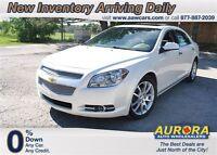 2011 Chevrolet Malibu LTZ, V6, Auto ! 90 day exchange !