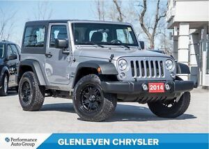 2014 Jeep Wrangler Sport | A/C| 3 PIECE HARD TOP | REAR DEFROST