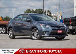 2014 Toyota Corolla LE, Leather, Sunroof, Alloy Wheels, Off Leas