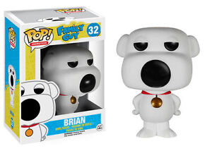 Funko Pop Animation Family Guy Brian Vinyl Action Figure 32 Collectible Toy 5239