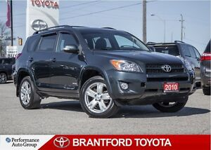 2010 Toyota RAV4 Sport, 69391 KM's !! , 4x4, One Owner, Local Tr