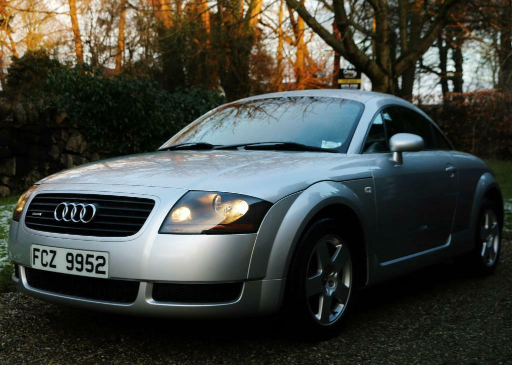 audi tt 1 8 quattro 2000 225bhp silver 4x4 ipod ready in. Black Bedroom Furniture Sets. Home Design Ideas
