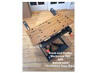 Black & Decker Workmate 550 - workbench - very good condition
