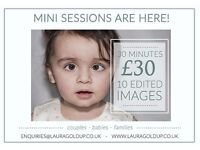 Photography Mini Session - Only £30!