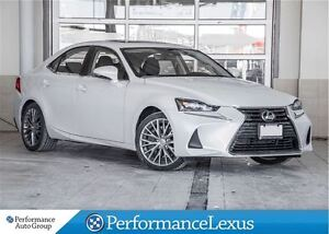 2017 Lexus IS 300 AWD LUXURY PACKAGE